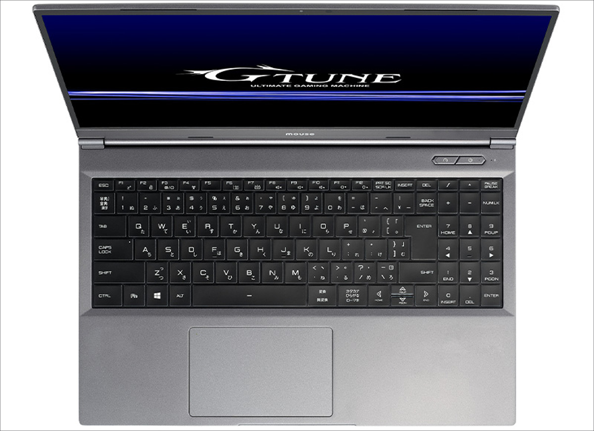 mouse G-Tune E5-165 / DAIV 5N