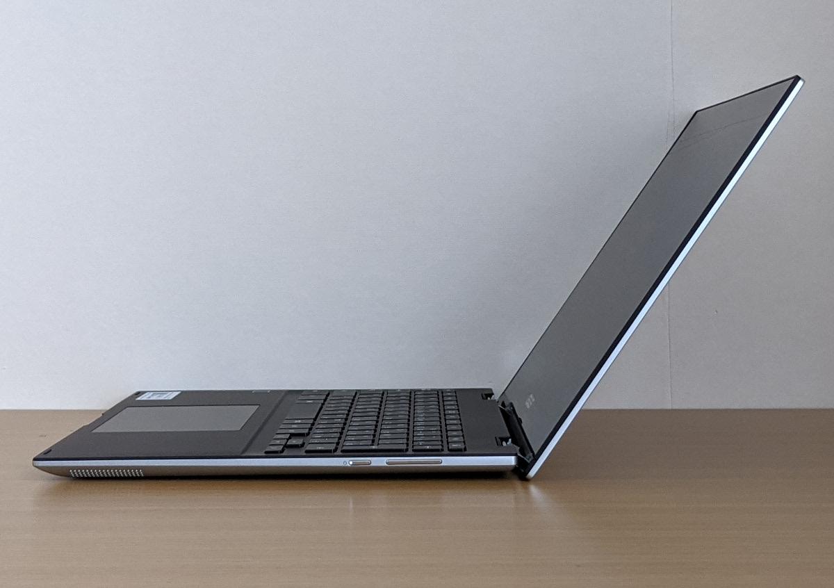 ASUS Chromebook Flip CM3 横から