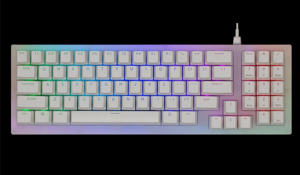 GamaKay K77 メカニカルキーボード