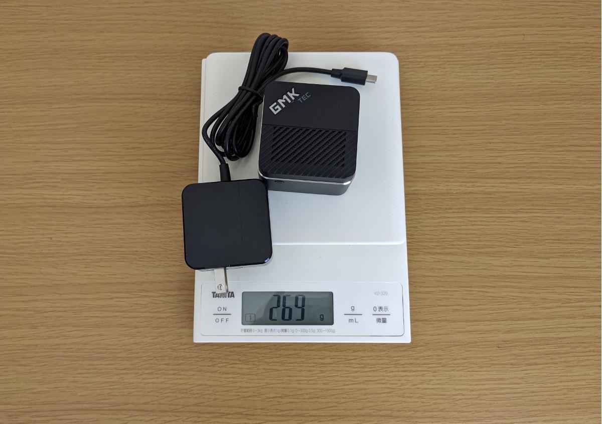 GMK NucBox 重量
