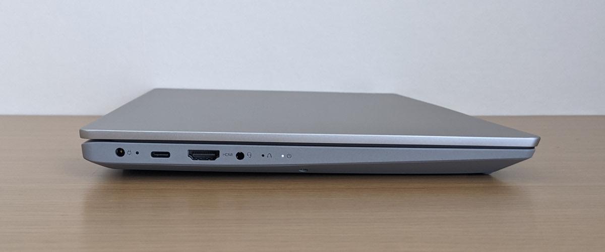 Lenovo IdeaPad Slim 550 14(AMD)左側面
