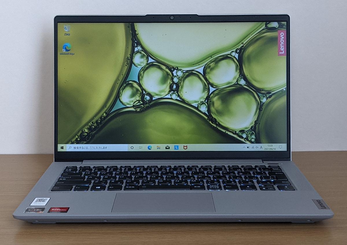 Lenovo IdeaPad Slim 550 14(AMD)ディスプレイ
