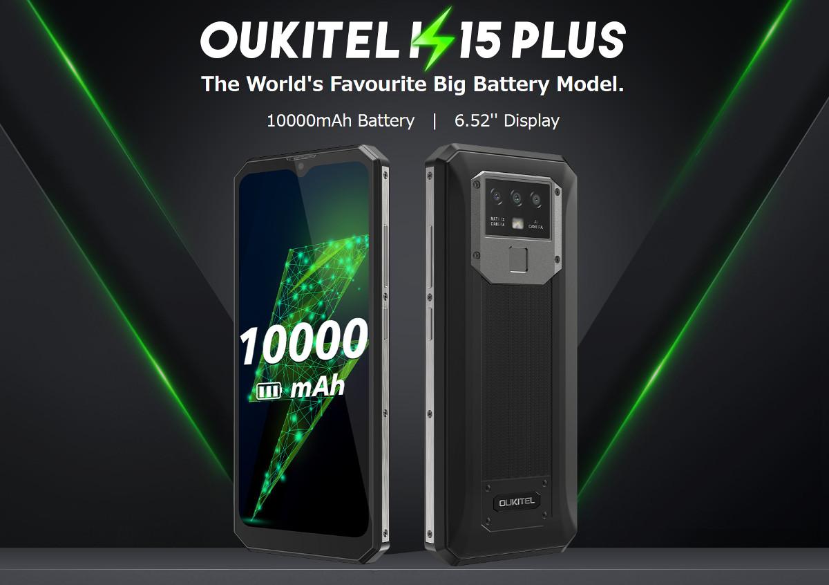 OUKITEL K15 Plus