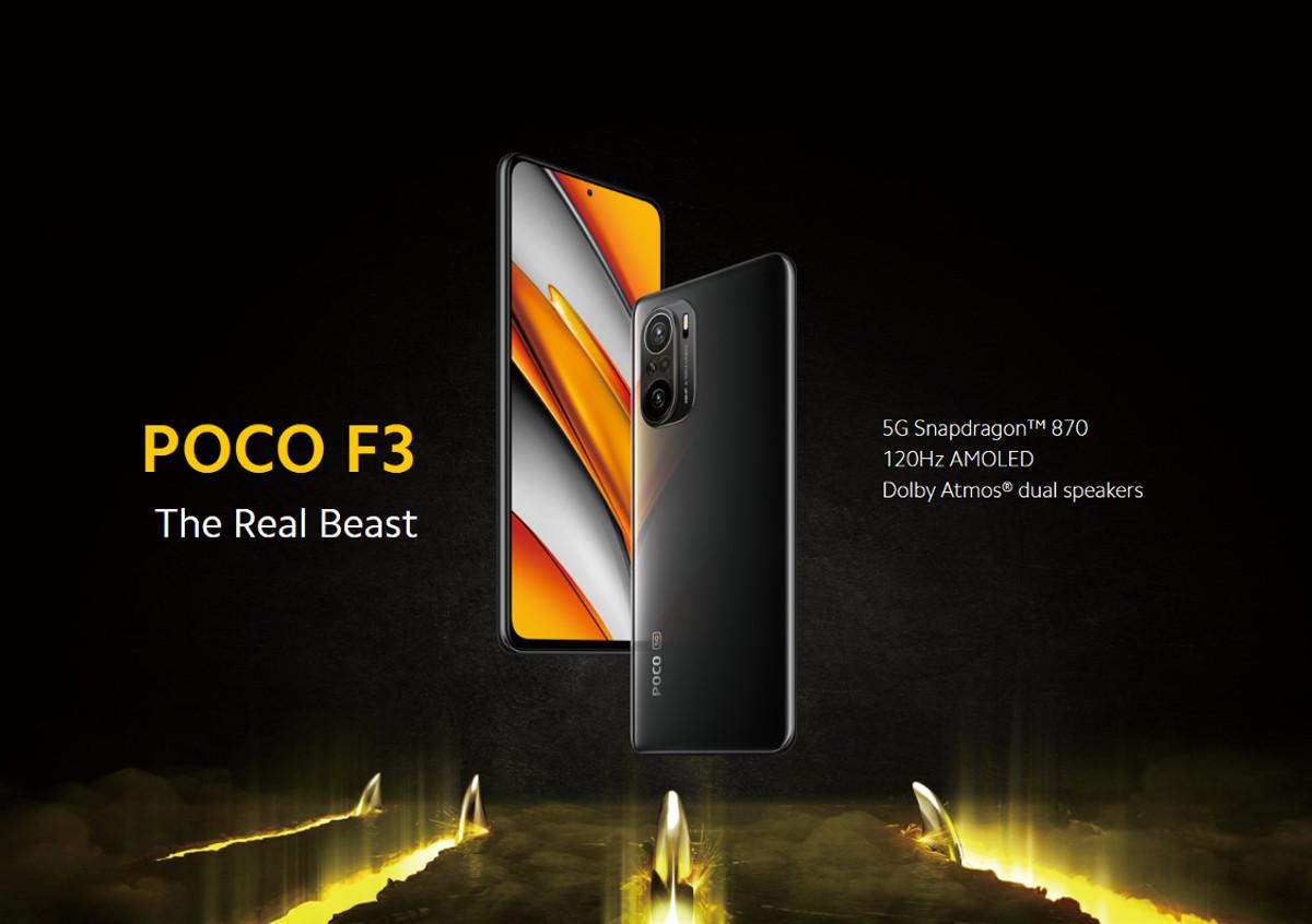 POCO F3 5G
