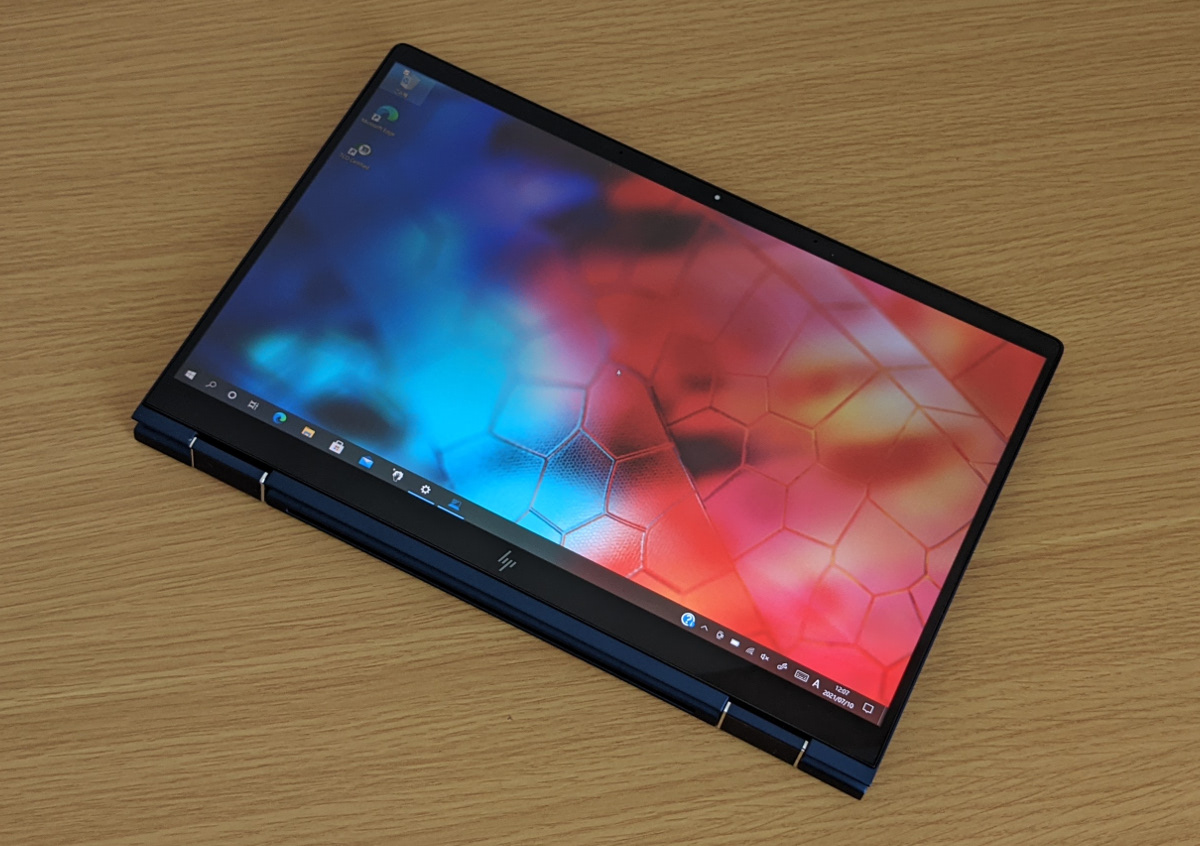 HP Elite Dragonfly G2 タブレットモード
