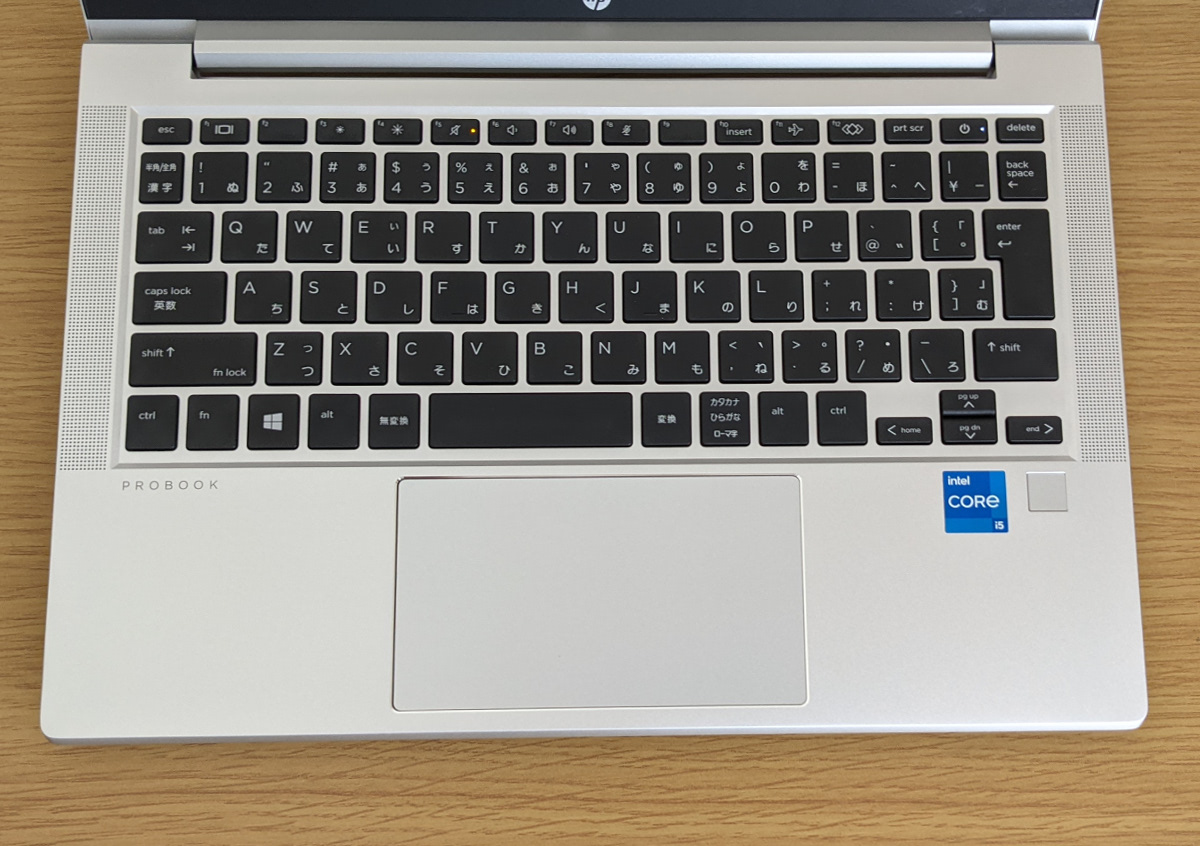 HP ProBook 430 G8 キーボード
