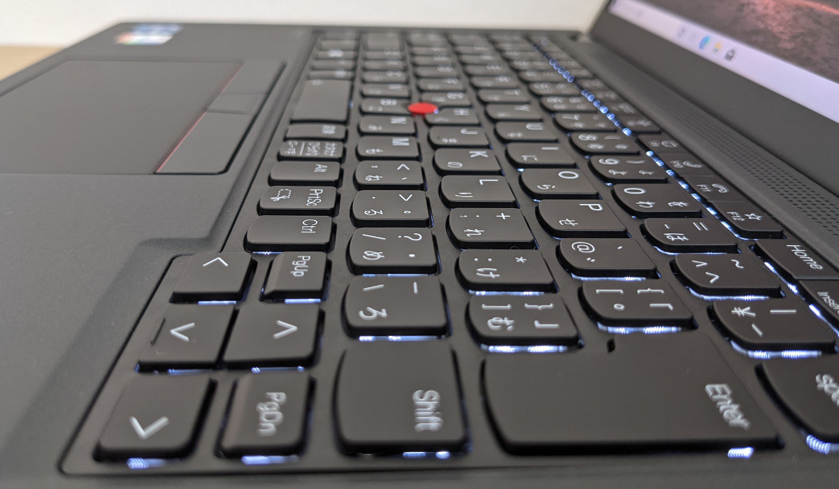 Lenovo ThinkPad X13 Gen 2 キーボード