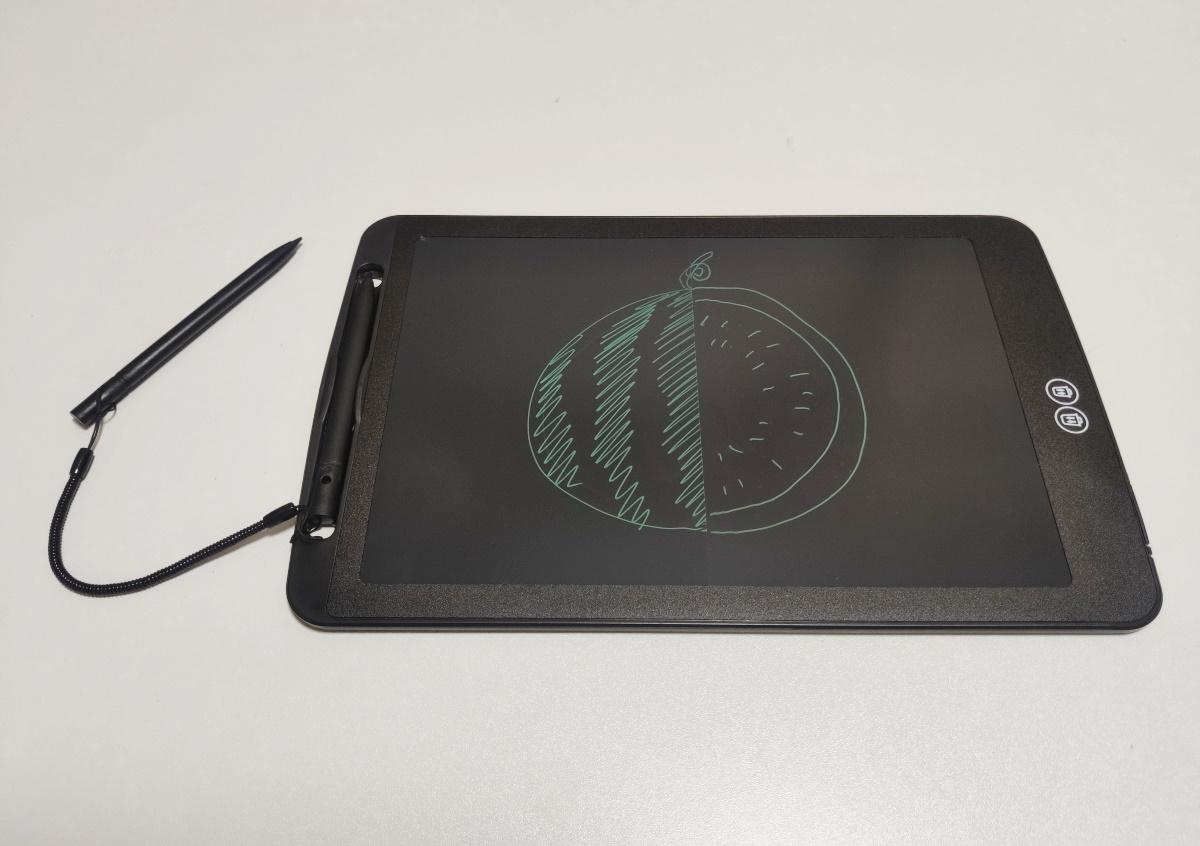 split screen writing tablet