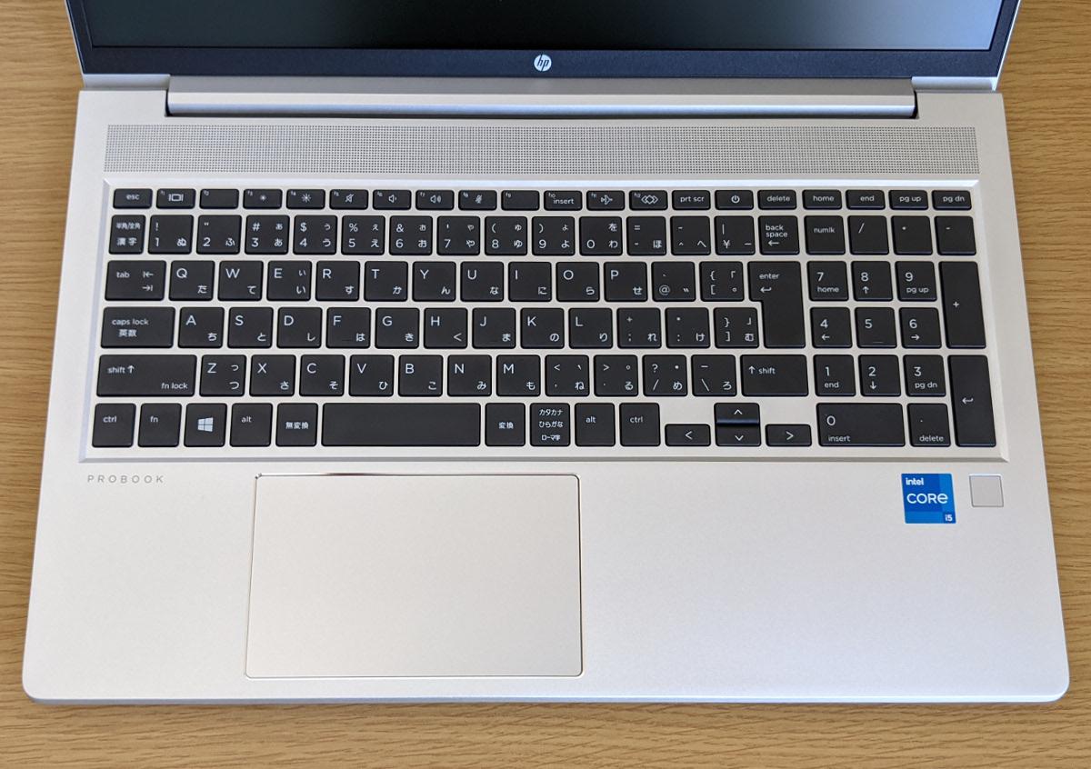 HP ProBook 450 G8 キーボード