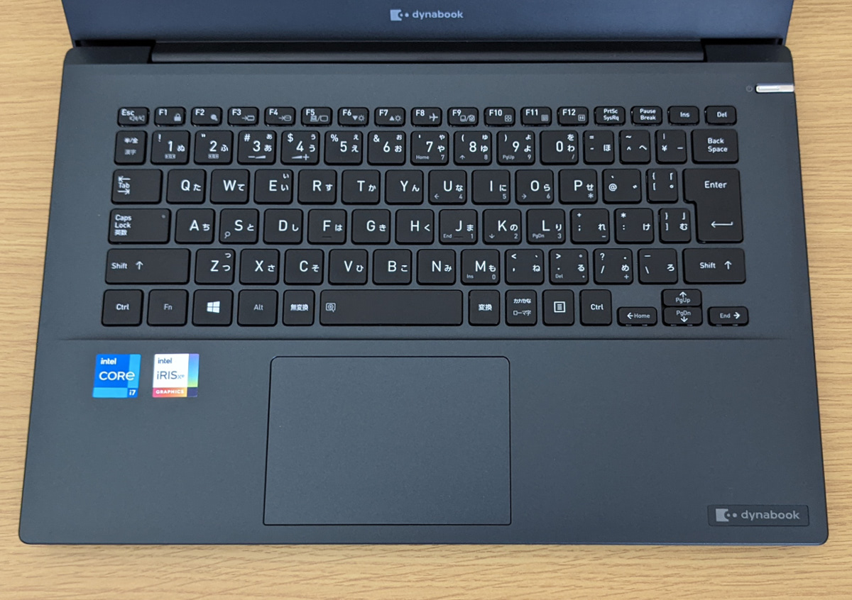 dynabook MZ/HS キーボード