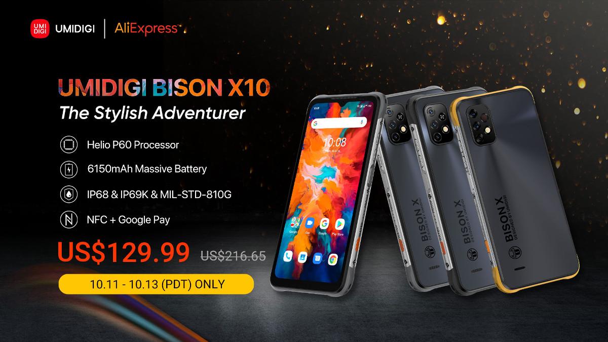 UMIDIGI BISON X10/X10 Pro